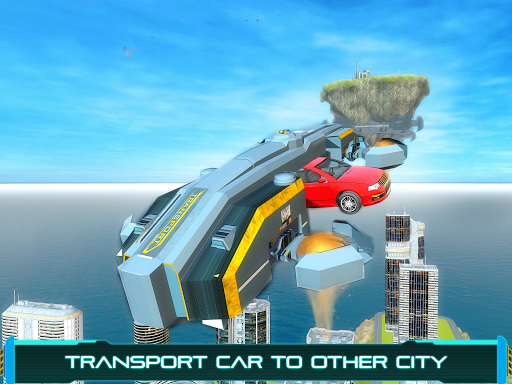 Tourist Futuristic Flying Car (Unlocked)