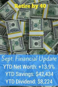 September 2016 Goals and Financial Updates thumbnail