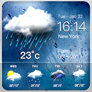 Daily weather forecast widget\u2602
