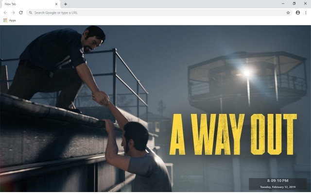 A Way Out New Tab & Wallpapers Collection