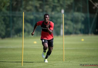 Ibrahima Cissé s'entraîne à Seraing