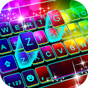 Neon Color 3d Keyboard Theme icon