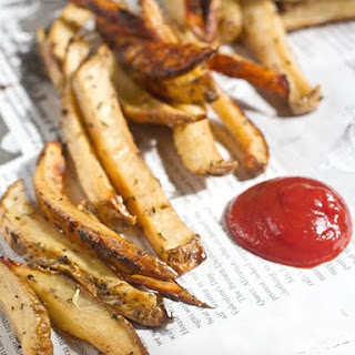 Balsamic Herb Oven Fries.