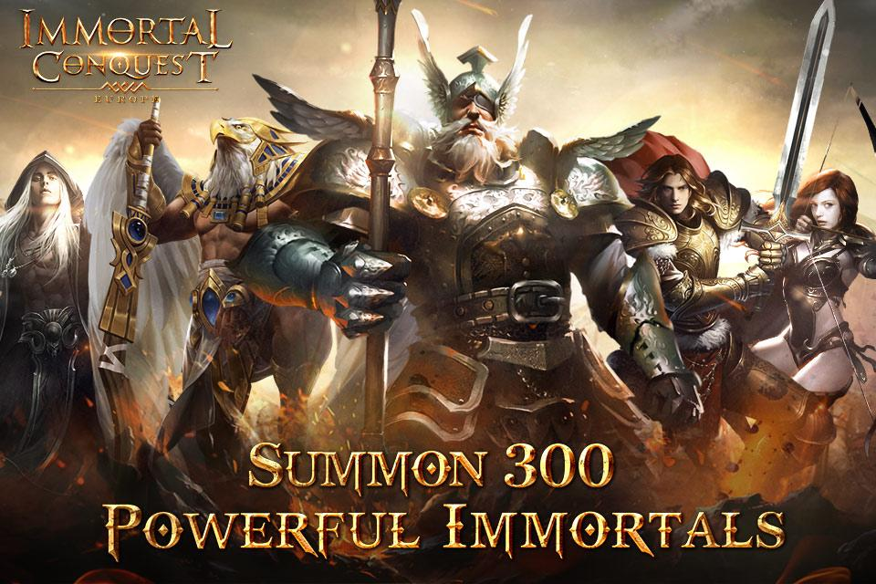 Immortal Conquest: Europe- screenshot