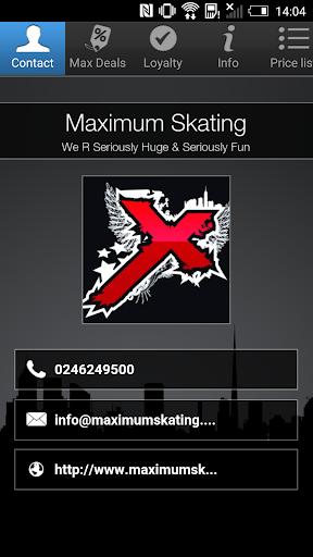 Maximum Skating