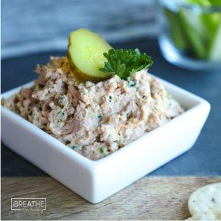 Easy Deviled Ham Salad - Low Carb & Keto.
