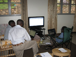 Photo: Building a new Life Ministry Uganda website
