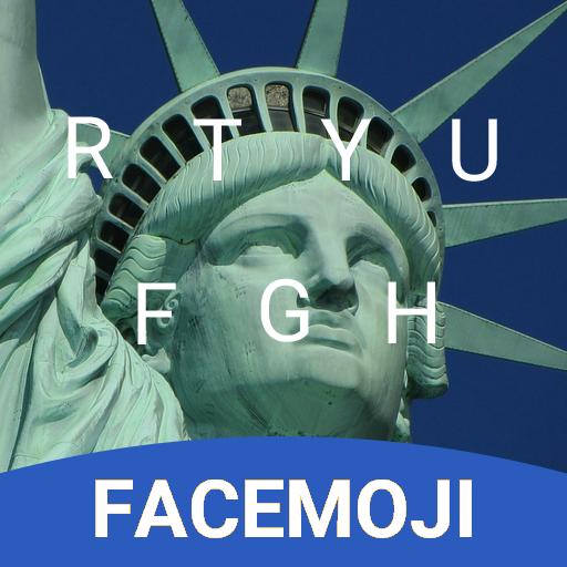 NYC Liberty Keyboard Theme & Emoji Keyboard