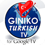Giniko Turkish TV for GoogleTV Icon