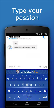 Chelsea FC Official Keyboard 3.2.47.73 screenshot 632531