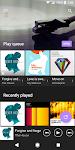 screenshot of Music
