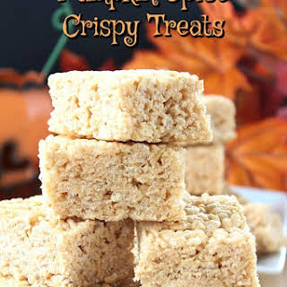 Pumpkin Spice Crispy Treats.