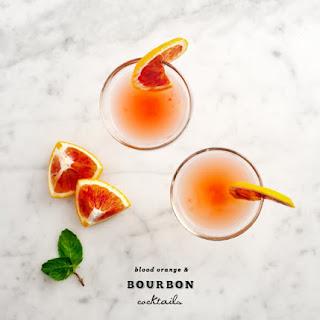 Blood Orange & Bourbon.