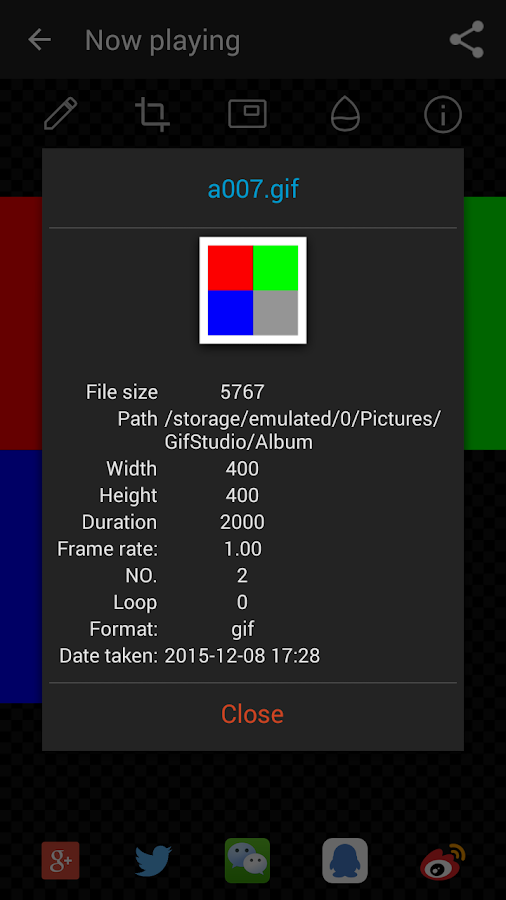 GIF Studio- screenshot