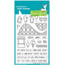 Lawn Fawn Clear Stamps 4X6 - Coaster Critters
