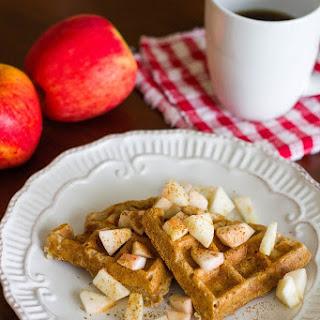 Apple Pie Waffles.