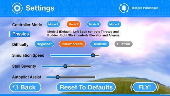 RealFlight Mobile MOD (Unlimited Coins) 5