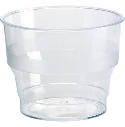 Plastglas          10cl 50/rör