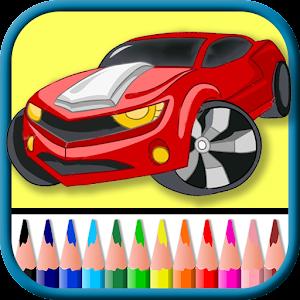 auto kleurplaten spelletjes