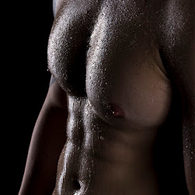 Buff by Mel Stratton - People Body Parts ( abs, bodyscape, male, chest, man, stomach,  )