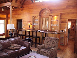 Photo: The bar in the Lodge