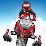 Snowmobile Free-Ride Extreme Icon