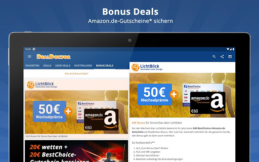 DealDoktor » Schnäppchen, Kostenloses, Gutscheine 5.5.5 screenshots 9