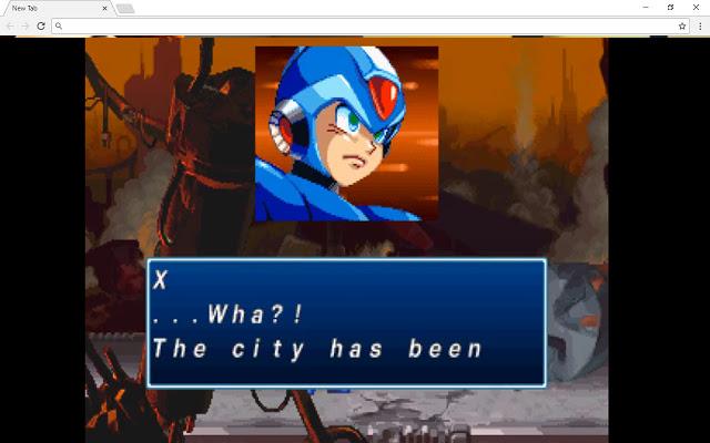 Mega Man X4 New Tab