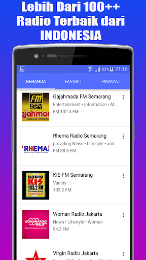 Radio Favorit FM - AM Stereo Indonesia 1.1.1 std-slm-test screenshots 5