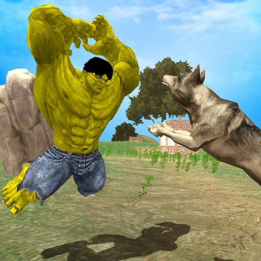 Monster Hero VS Angry Wolves