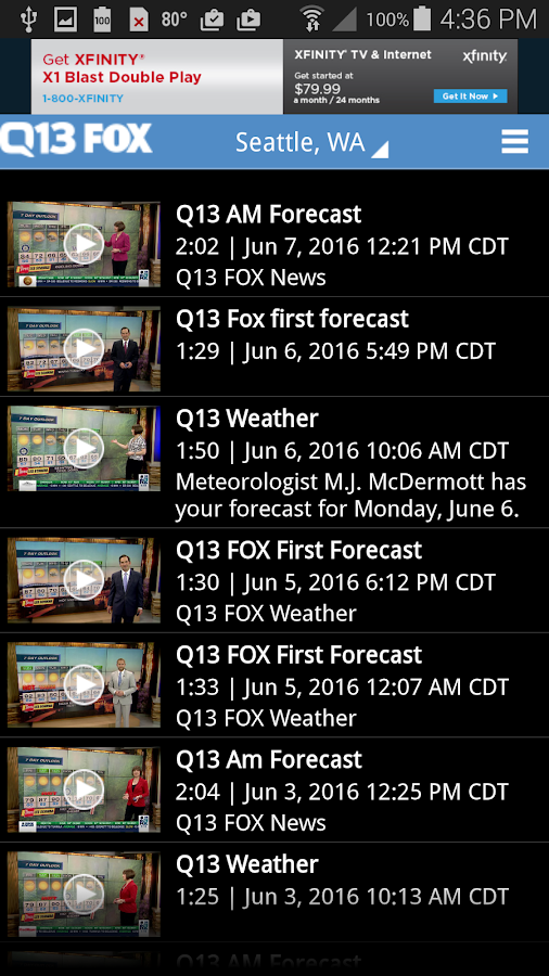 Q13 Fox Weather- screenshot