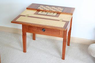 Photo: Games Table-Brian Doyle Blackwood plus