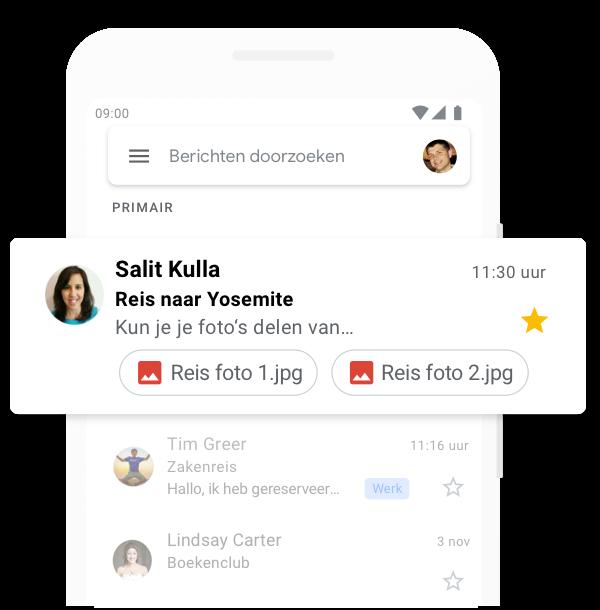 Gmail: gratis opslag en e-mail van Google