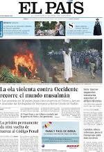 Photo: La ola violenta contra Occidente recorre el mundo musulmán, la prisión permanente da otra vuelta de tuerca al Código Penal y la princesa de Asturias rediseña la Corona española, en nuestra portada del sábado 15 de septiembre http://srv00.epimg.net/pdf/elpais/1aPagina/2012/09/ep-20120915.pdf