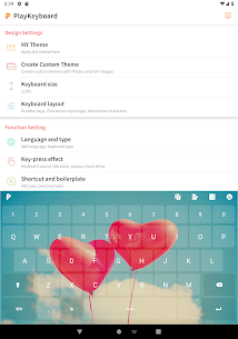 PlayKeyboard – Create a Theme, Emojis, Shortcuts Apk  Download For Android 9