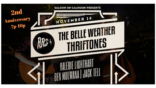 Amplified Artist Sessions Presents: 2nd Anniversary Showcase Featuring the Belle Weather Thriftones