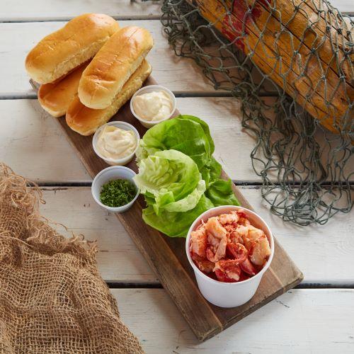 Lobster Roll Kit for 4ppl