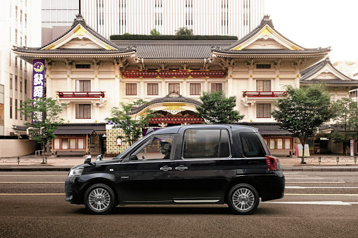 The new Japan Taxi might look familiar to anyone who has ever been to London.