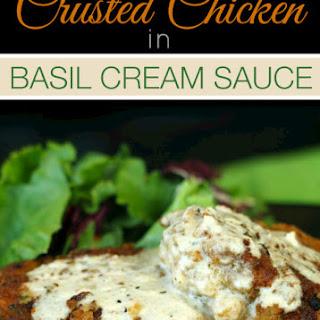 Chicken in Basil Cream Sauce Recipe