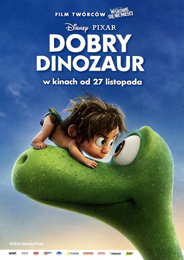 Przód ulotki filmu 'Dobry Dinozaur'