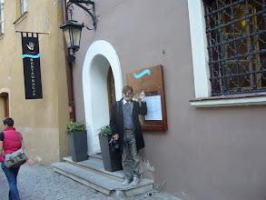 """Photo: Wejście do """"Czarciej łapy"""""""