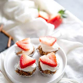 Strawberry Pretzel Salad Bites.