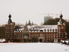 Photo: Arenberg - vévodům za Arenbergu (jižní okraj Leuvenu, dnes jedna z fakult univerzity) do 1.SV patřily lesyMeerdaalbos a Heverleebos, kam se právě chystáme.
