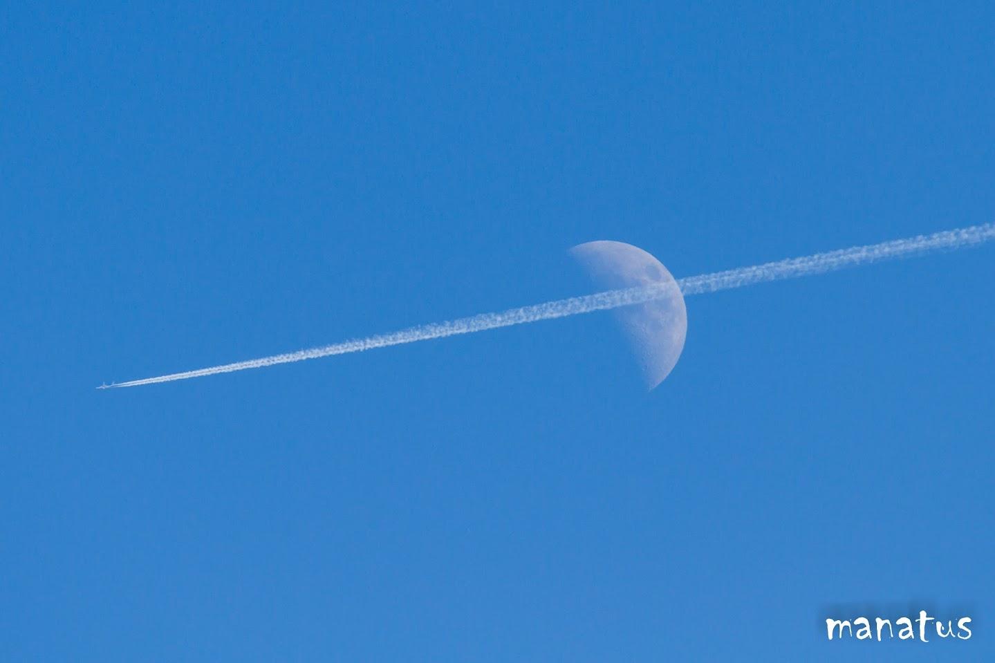 manatus luna estela avión