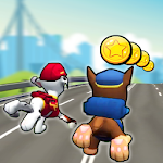 Paw Run Patrol Dash Icon