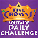 Five Crowns Solitaire icon