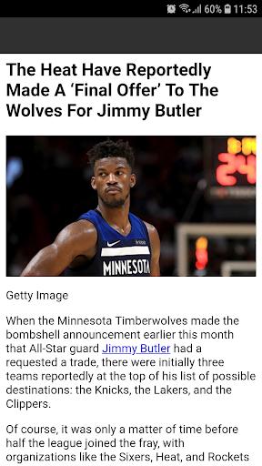Latest NBA News 1.0 screenshots 4