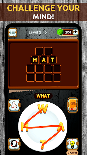 Mind Game - Word Connect Cookies Chef apkpoly screenshots 1