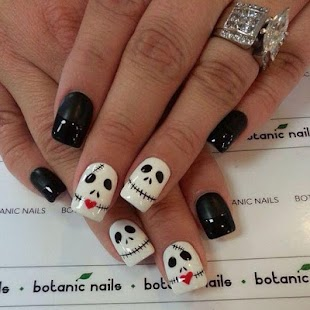 Halloween nail designs android apps on google play halloween nail designs screenshot thumbnail prinsesfo Images