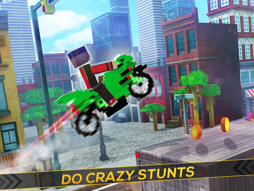 Blocky Superbikes Race Game - Motorcycle Challenge apkmr screenshots 8